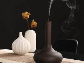 创意室内香薰:家用香薰机小型花瓶空气加湿器01K