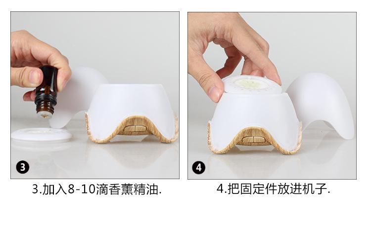 迷你便携-蛋壳负离子熏香扩散仪L07